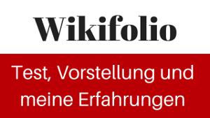 Wikifolio Test und Erfahrungen