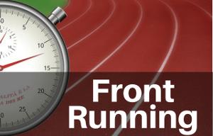 Front Running: Erklräung des Börsenbegriffs