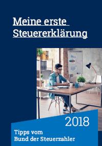 Meine erste Steuererklärung – Broschüre des Bund der Steuerzahler Deutschland
