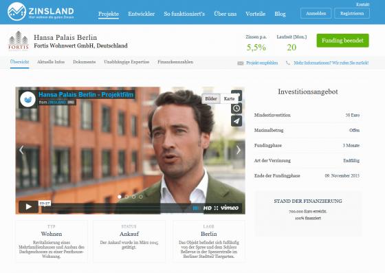 Projekt im Test bei Zinsland