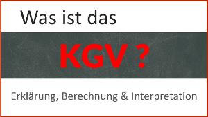 Was ist das KGV? Erklärung, Berechnung und Interpretation